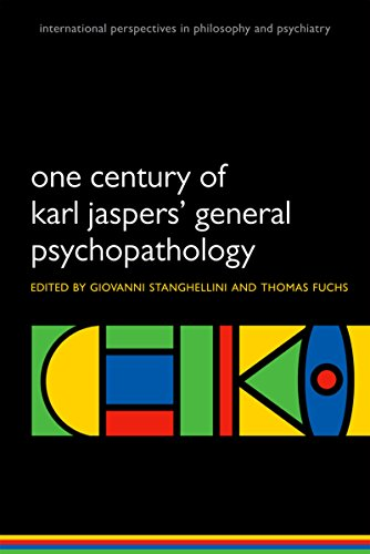 One Century of Karl Jaspers' General Psychopathology